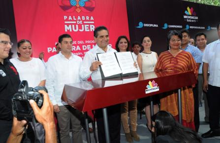Arranca el Gobernador Silvano Aureoles el programa
