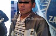 Dos presuntos vendedores de droga son capturados en Zamora