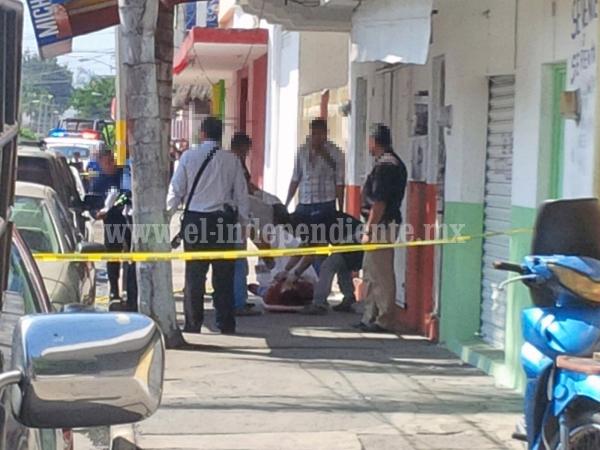 Ultiman a tiros a comerciante del Mercado Hidalgo, en Zamora