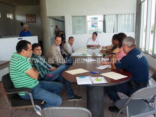 Síndico asistió a la reunión del comité local de Seguridad Aeroportuaria