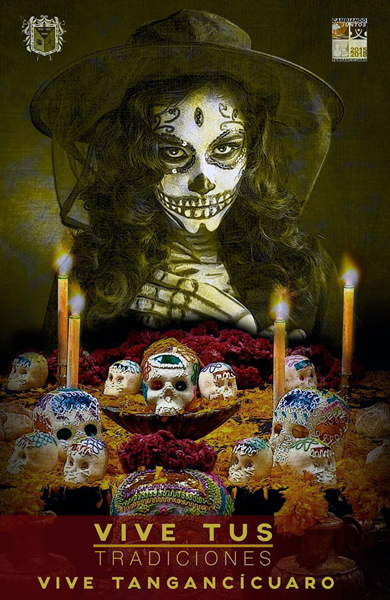 Día de Muertos, una tradición que vive en Tangancícuaro