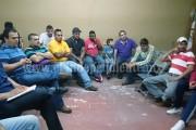 """""""Dentro de la agenda de trabajo, el edil se reúne con carniceros de Los Reyes"""""""