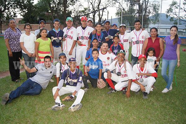 Escuela de Beisbol Zamora se convirtió en Campeón en la Olimpiada Municipal