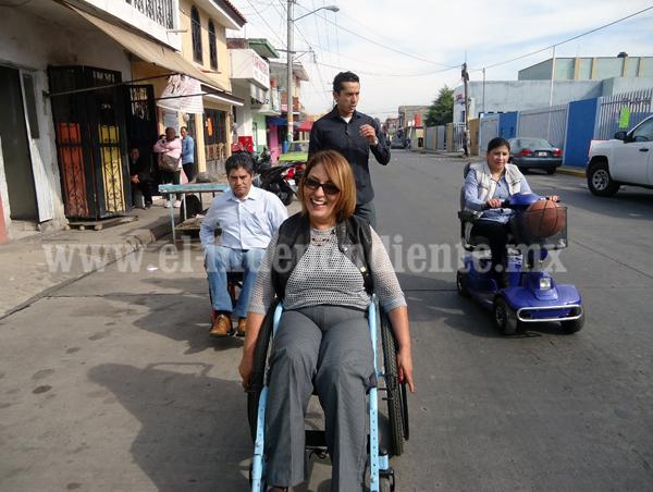Funcionarios participan en dinámica de Inclusión para personas con capacidades especiales