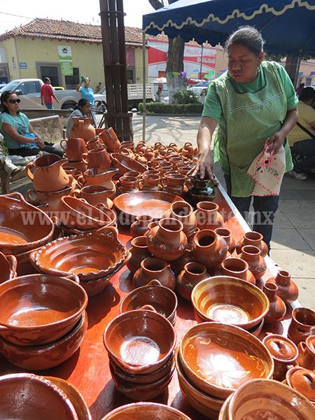 Producción artesanal a base de barro cayó 40 por ciento
