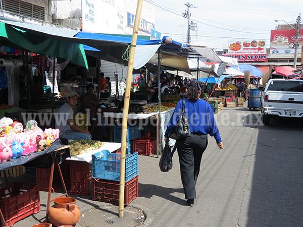 En los últimos tres meses la crisis económica en el mercado Hidalgo se agudizó