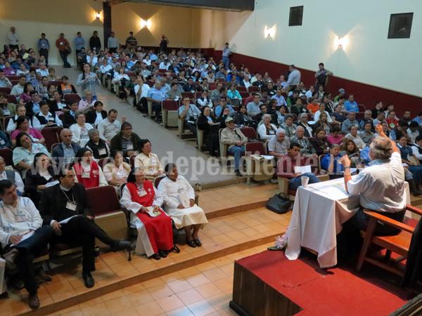 Desintegración familiar afecta al 70 por ciento de católicos de Zamora