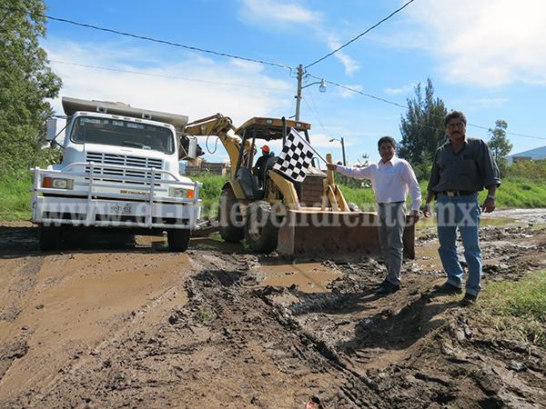 Arrancan obra de pavimentación en Jacona por más de 2 millones de pesos