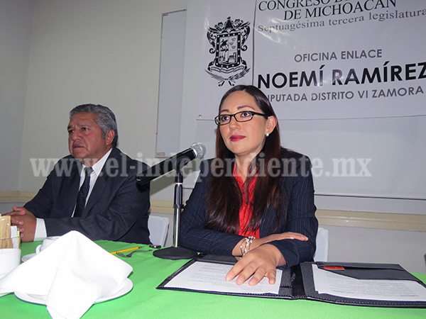 Diputada local ,Noemí Ramírez, abrió Oficina de Enlace Legislativo