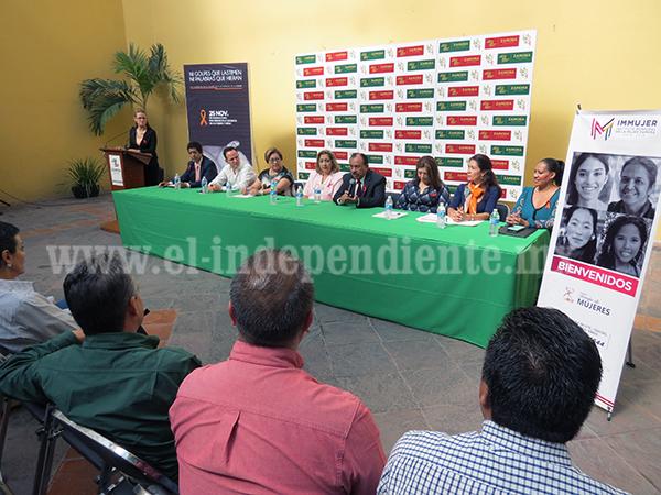 Instalarán sede institucional para atacar violencia en contra de mujeres