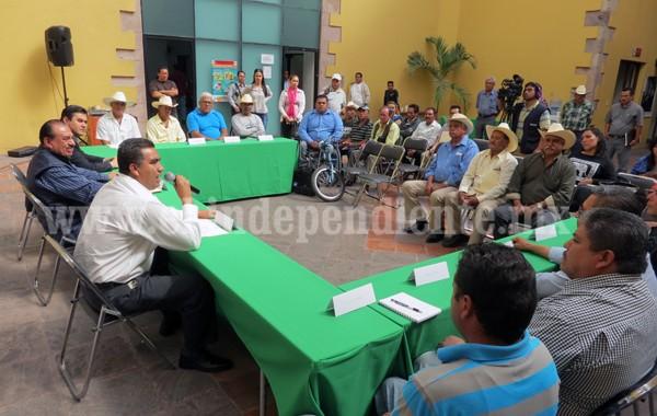 Piden a autoridades auxiliares sumarse a esfuerzos para un mejor Zamora