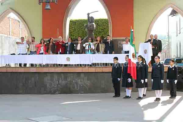 Conmemoraron el 460 aniversario de la fundación de Jacona