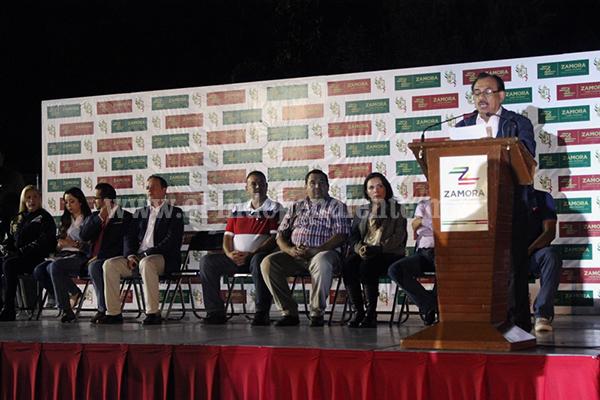 Pusieron en marcha Olimpiada Municipal Zamora 2015
