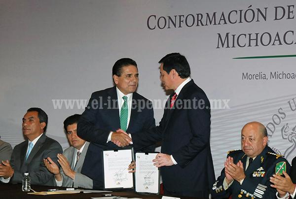 Se consolida Mando Único Policial en Michoacán
