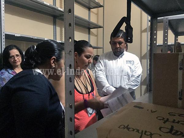 Entregó IEM material electoral a órganos desconcentrados de Sahuayo e Hidalgo
