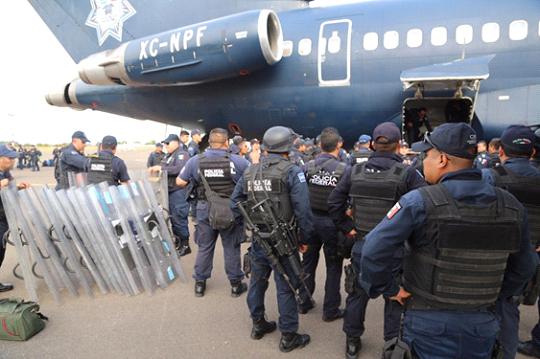 Arriban agentes federales a Michoacán por evaluación docente