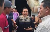 Diputada escuchó necesidades de la gente de comunidades indígenas