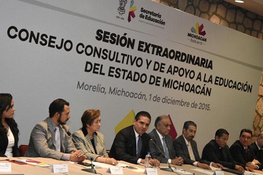 Educación, única vía de trasformación en Michoacán: Silvano Aureoles