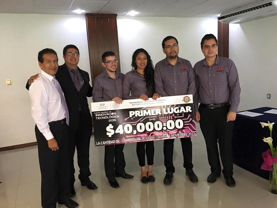 Instituto Tecnológico Superior de Los Reyes gana Concurso Nacional de Innovación Tecnológica 2015