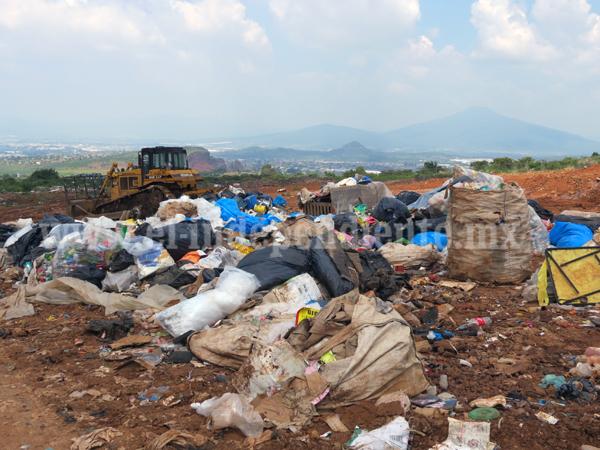 Necesario mejorar el manejo de los desechos en el basurero