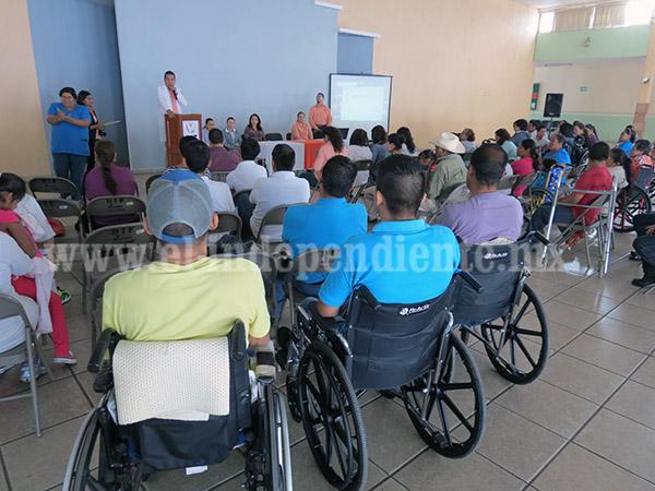 Administración, sensible  a la inclusión de personas con discapacidad