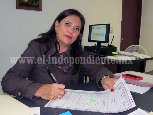 Blanca Arriaga Marín, nueva titular del Registro Civil