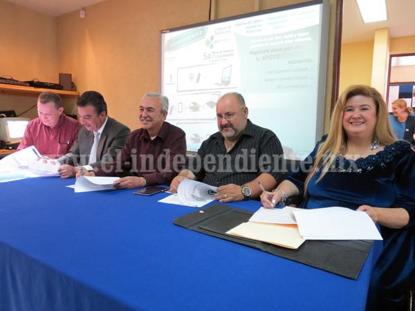 CANACO  y UNIVER firman convenio de colaboración