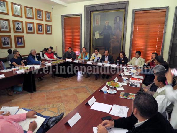 Alcaldes incluirán proyectos detonantes en esta región en Plan Estatal de Desarrollo
