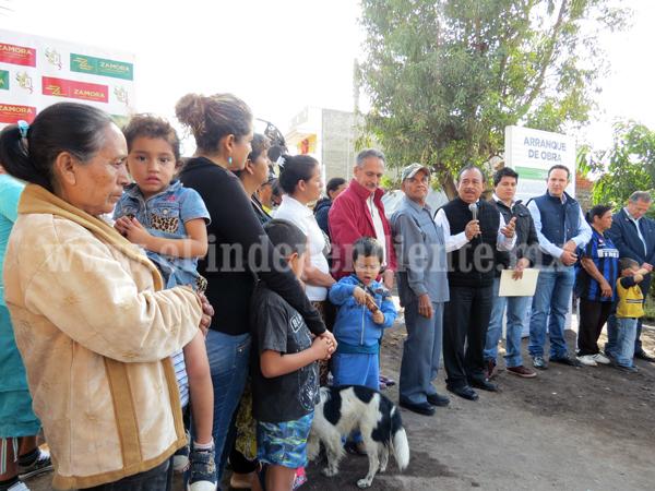 Destinarán 2.5 mdp para pavimentación de calle Zamora en colonia Valencia