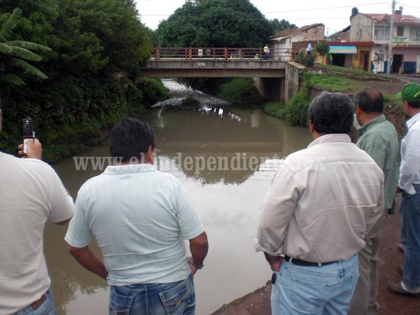 Urge saneamiento de los ríos del Platanal y el de la presa de Verduzco: Alcalde