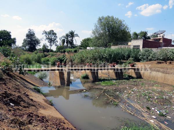 En el 2016 iniciará  la obra de entubamiento de la  presa Verduzco