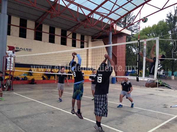 Dio la sorpresa Jaza y derrotó a Gorilas en la Liga Zamorana de Voleibol