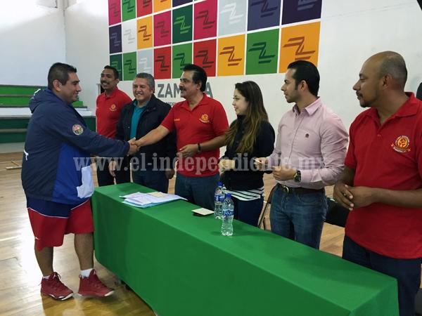 Inauguran el Torneo de la Liga Zamorana de Basquetbol