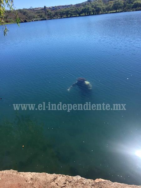 Encuentran a un hombre ahogado en la Presa La Luz