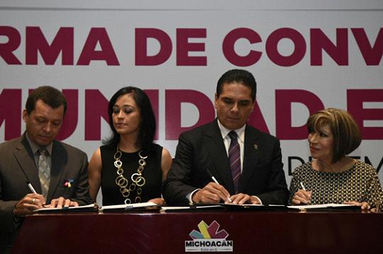 Compromete Silvano Aureoles políticas públicas de desarrollo, no asistencialistas para Michoacán