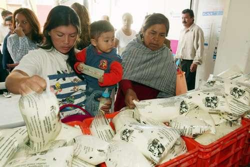 Cuarto lugar ocupa Michoacán en materia de abasto de leche Liconsa