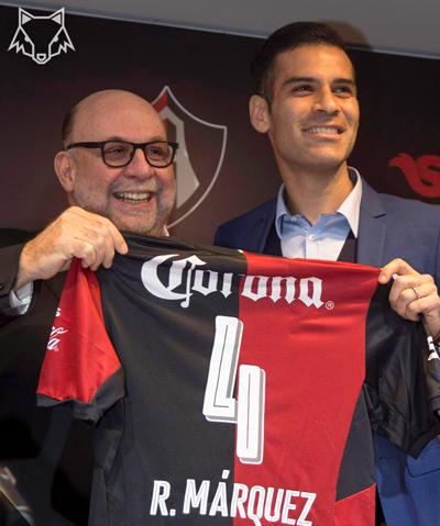Rafa Márquez contento de su regreso al Atlas