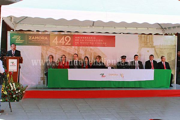 Zamoranos estamos obligados a honrar la historia del municipio