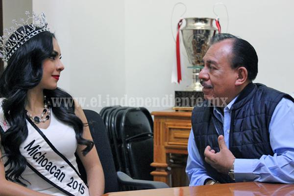 Lista la zamorana Magdalena Chiprés para el certamen de Nuestra Belleza México 2016