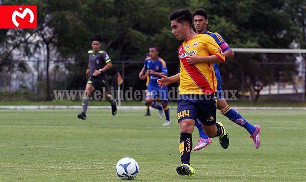 Claudio Zamudio Godínez, fue elegible para ascender a la categoría Sub 20 en su equipo Monarcas Morelia