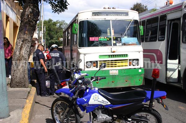 Capacitación a transportistas disminuye incidentes de tránsito