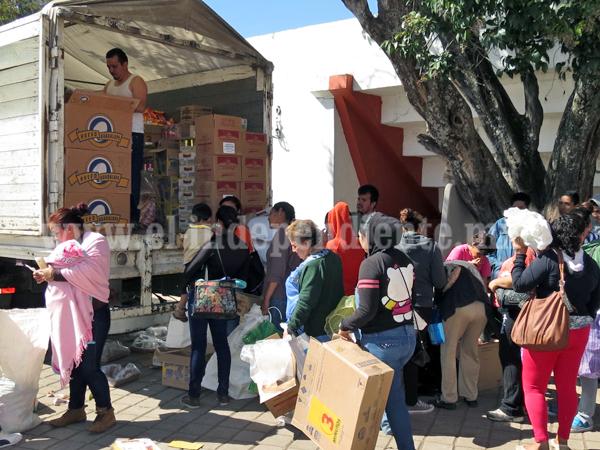 Alrededor de 250 familias recibirán alimentos  y becas del programa PROSPERA