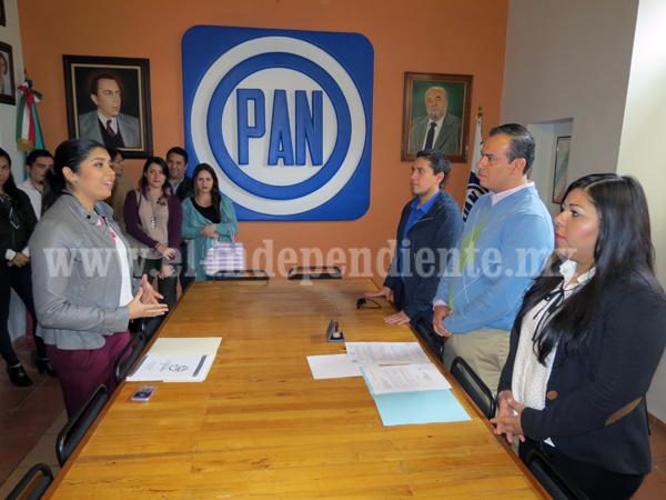 Disputaran la dirigencia juvenil del PAN Andrea del Rio y Susana Olvera
