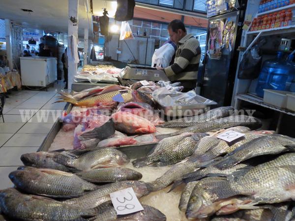 Escasea la oferta de pescado ante las bajas temperaturas