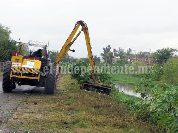 Módulo 1 iniciará trabajos de conservación de ríos, drenes y canales