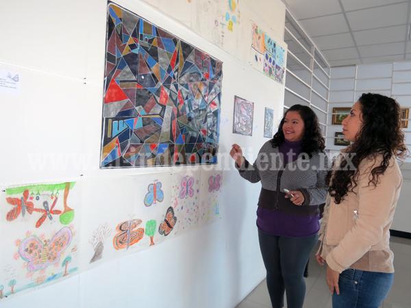 En Casa de la Cultura exhiben la exposición reciclarte