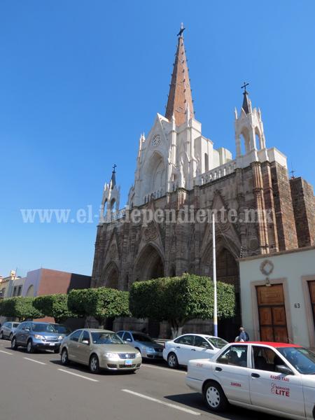Terminan proyecto del templo expiatorio del Sagrado Corazón
