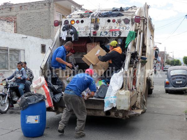 Emprenderán campaña de separación de desperdicios en colonias