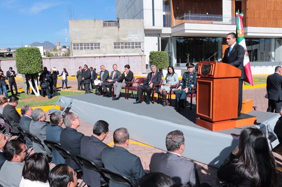 Que Michoacán sea una entidad de justicia y paz social, el compromiso: Silvano Aureoles