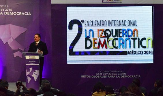 En 2018, la mejor alternativa de gobierno para México será la izquierda: Silvano Aureoles